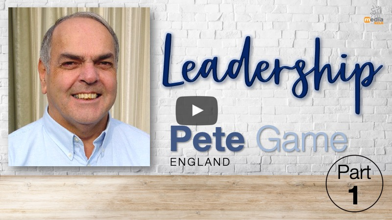 Leaders training with Pete Game -  part 1