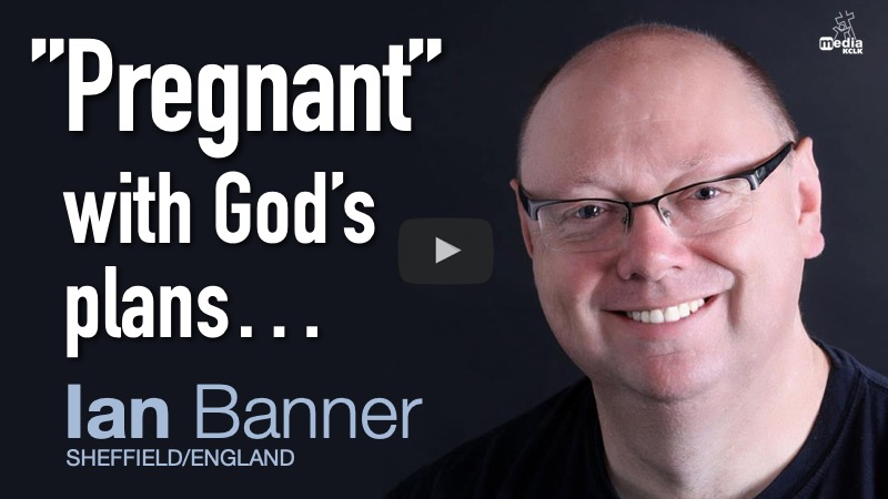 """Pregnant"" with God's plans - Ian Banner"